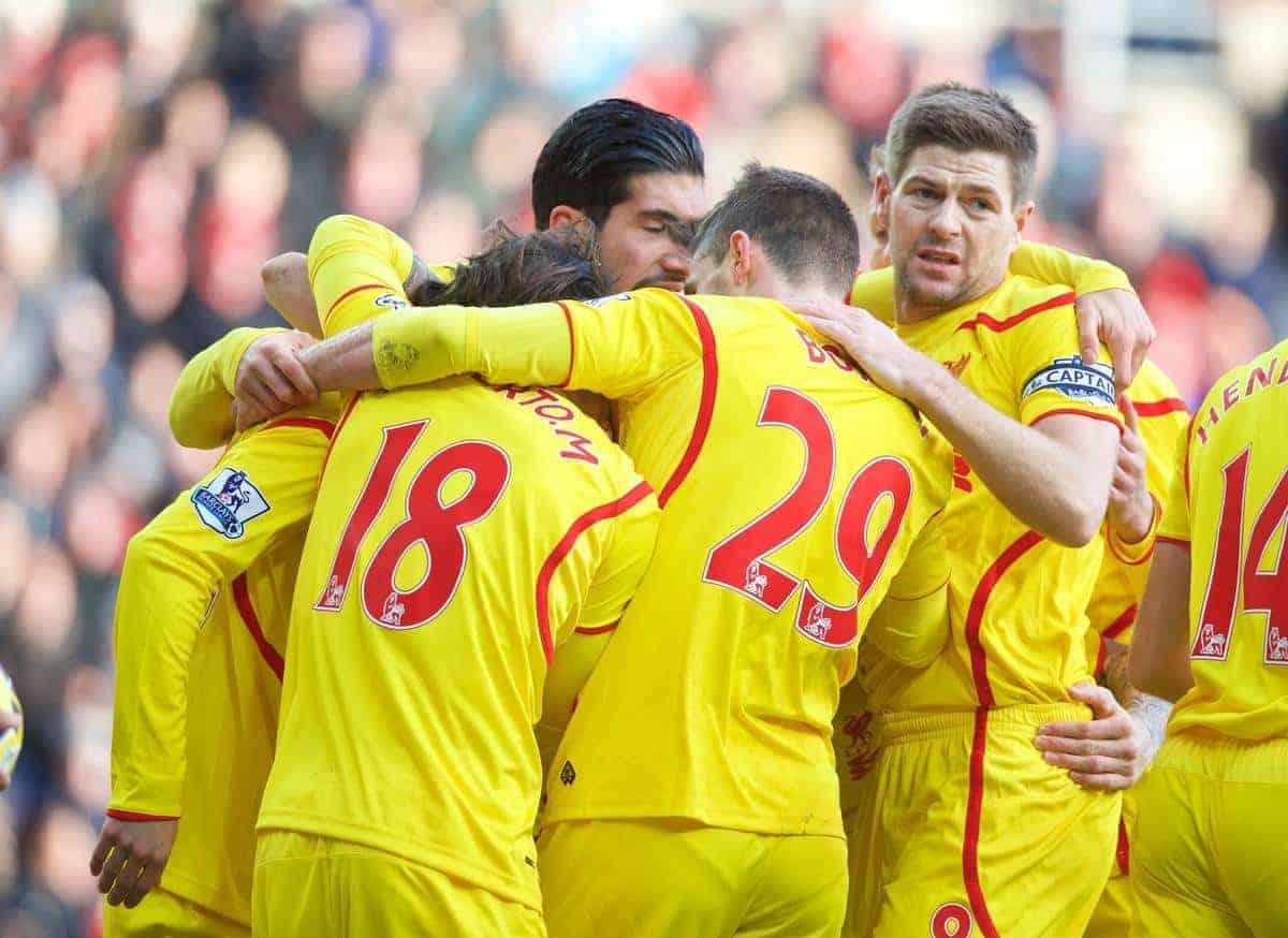 Sunderland Vs Liverpool 1 0: Photos: Liverpool Players Celebrate 1-0 Win At Sunderland