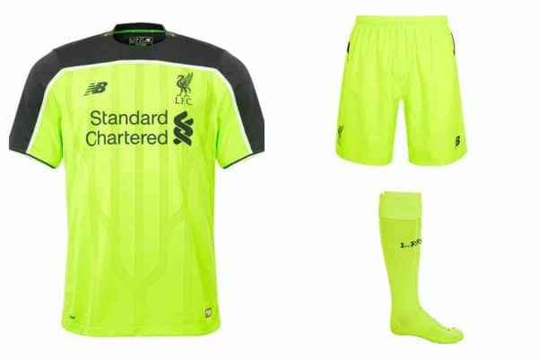 Liverpool reveal new third kit for 2016 17 season b3af8fa75