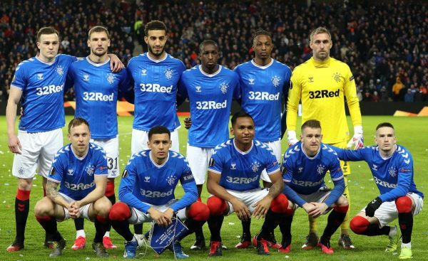 The Rangers team have come together to help their colleagues (PA)