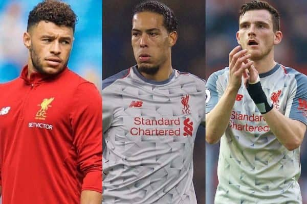 Oxlade-Chamberlain set for Liverpool return