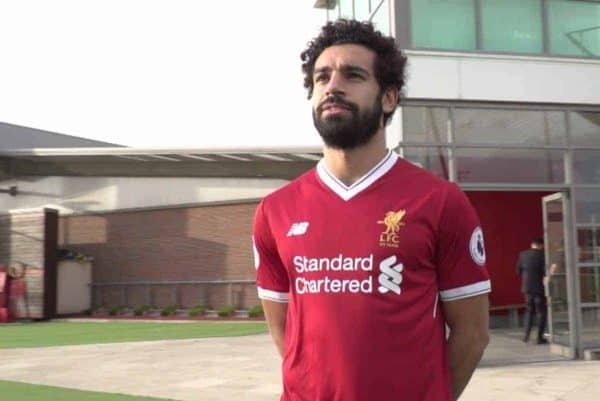 detailed look 2ba30 f32e8 Leaked image confirms Mohamed Salah squad number and change ...