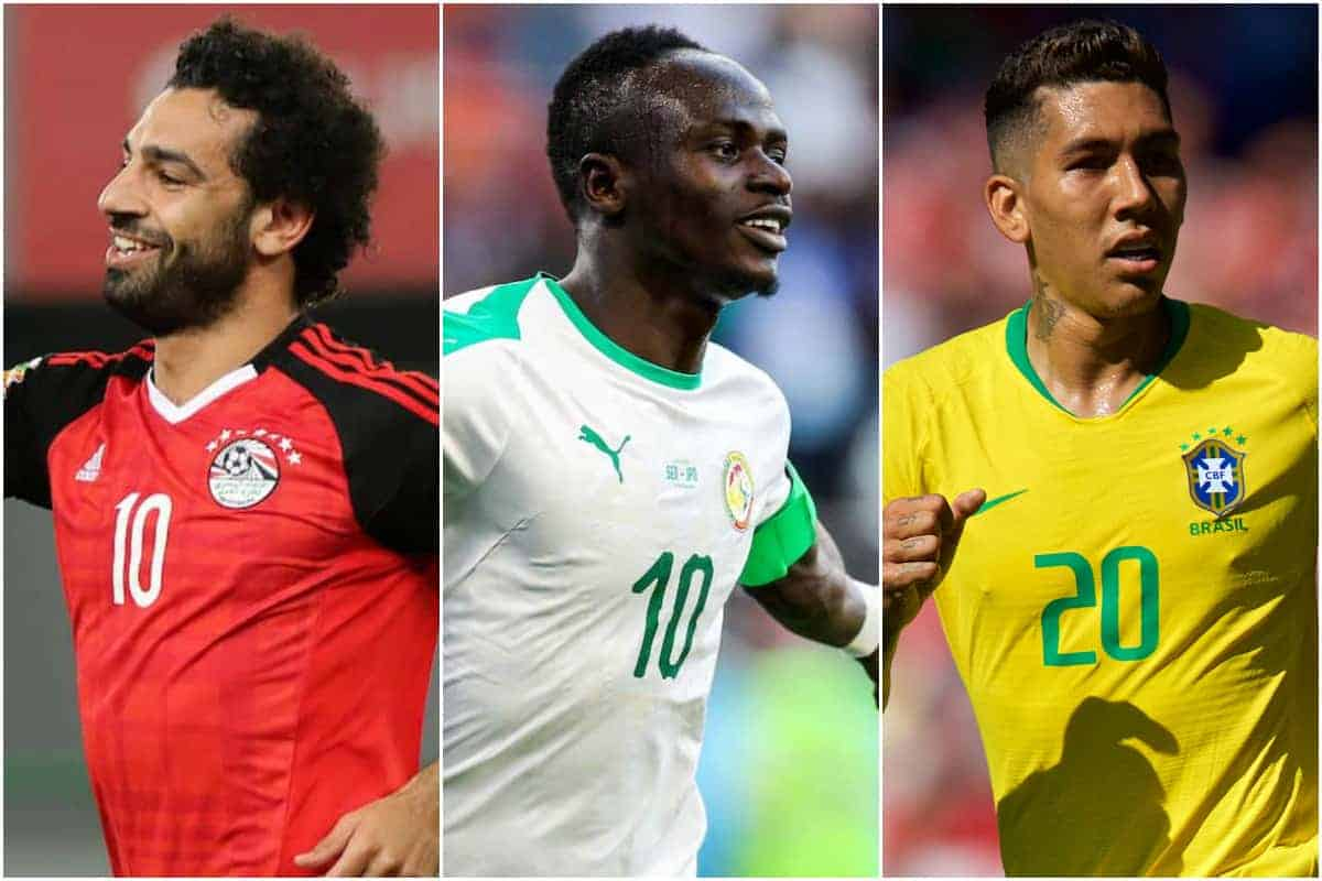 AFCON, Nations League & more – The Liverpool players on international duty this summer