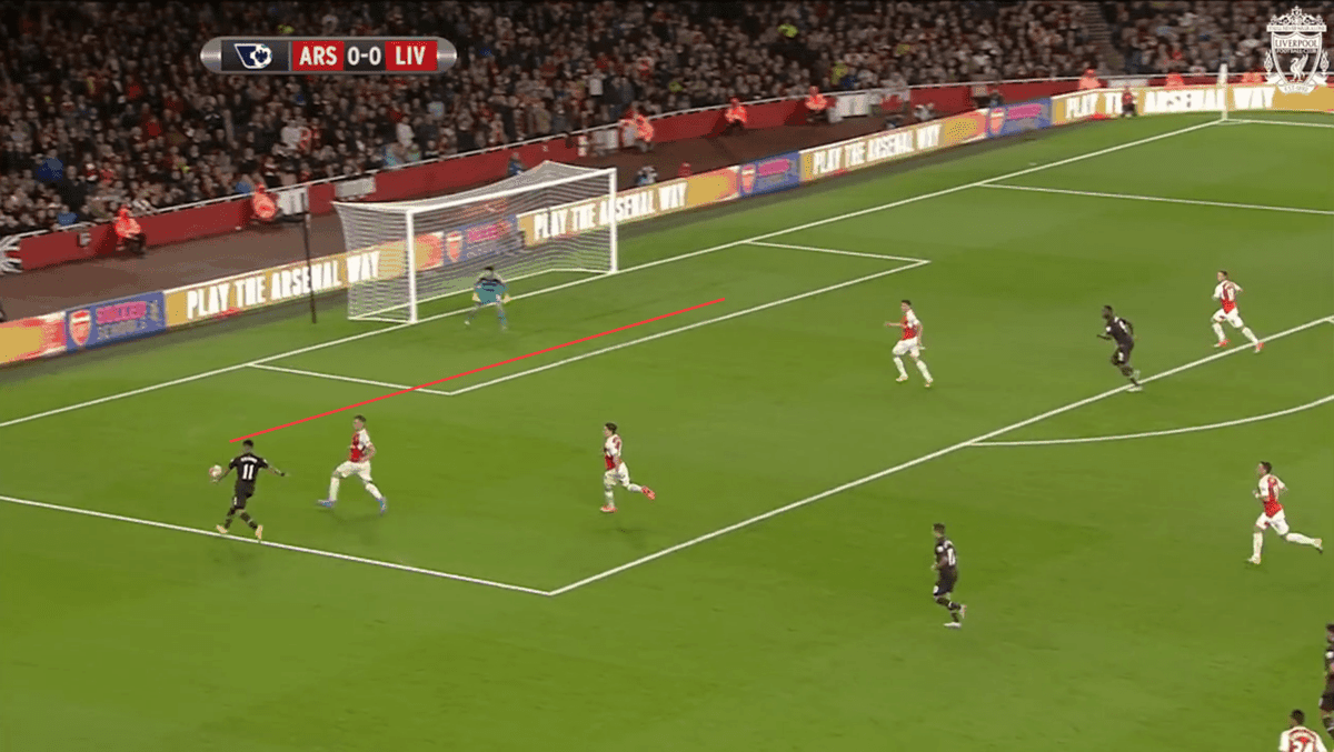 Firmino Cross vs. Arsenal