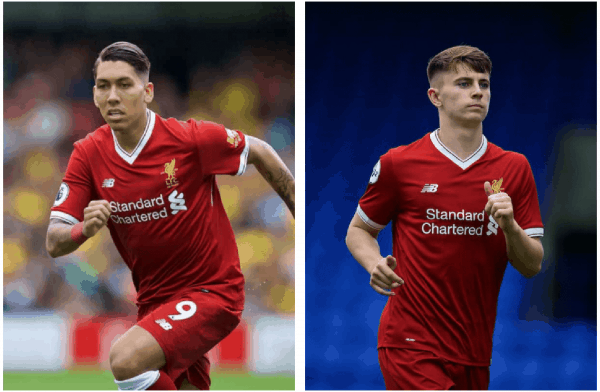 Coutinho, Firmino in race to be ready for Man Utd clash
