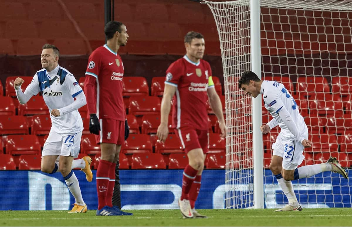 Liverpool 0-2 Atalanta: Player Ratings – What the media and statistics say - Liverpool FC - This Is Anfield