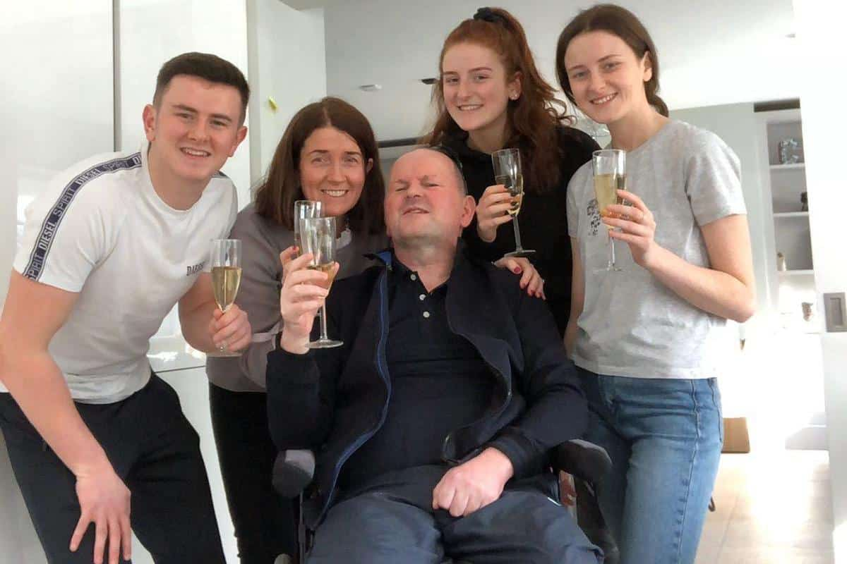 'An incredibly important step' – Sean Cox makes permanent return home two years after attack