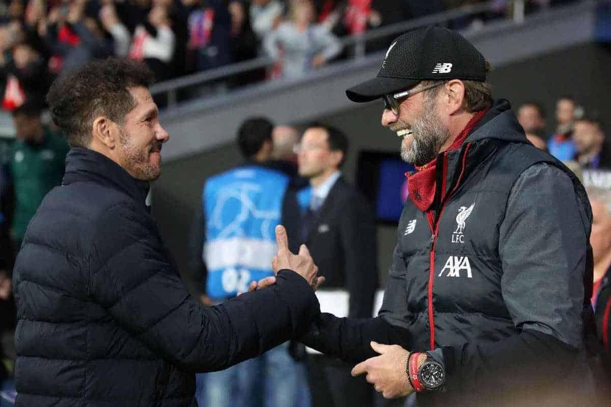 Klopp says he 'prefers a different kind of football' to Simeone