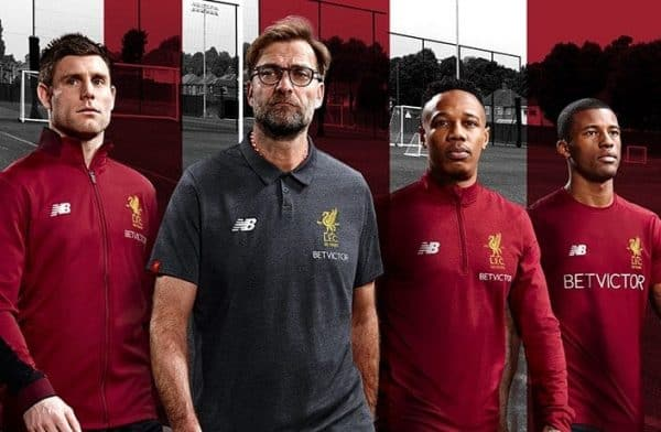 Entdecken neues Erscheinungsbild Volumen groß Liverpool launch new training kit for 2017/18 - and it's a ...