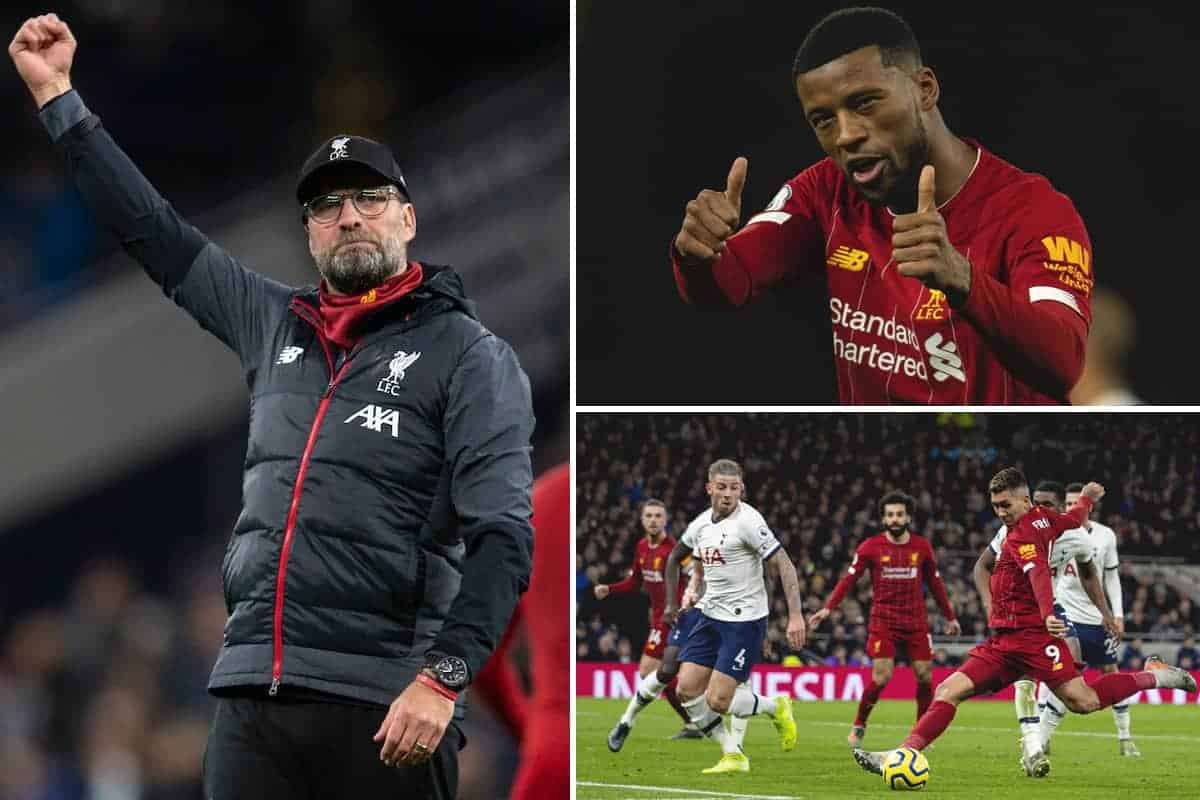 The best photos as Liverpool break more records and outgun Tottenham