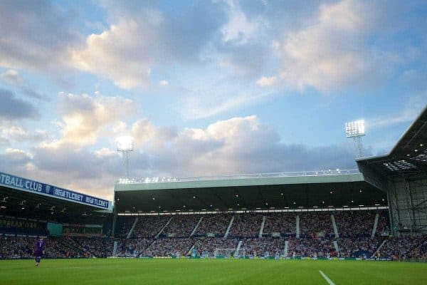 WEST BROMWICH, ENGLAND - Monday, August 10, 2015: A general view of West Bromwich Albion's The Hawthorns as they take on Manchester City during the Premier League match. (Pic by David Rawcliffe/Propaganda)