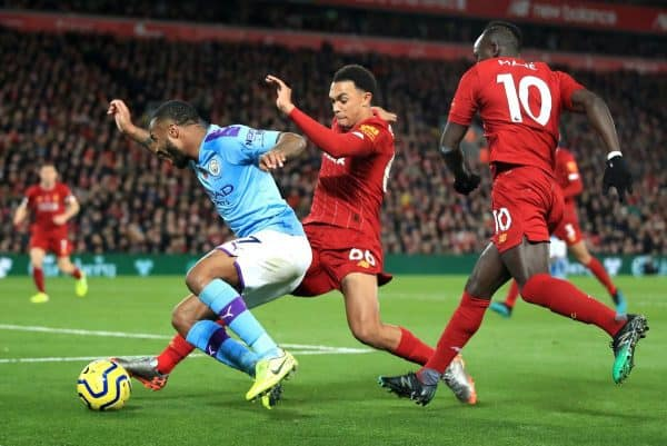 Manchester City's match against Liverpool at the Etihad Stadium is one of five fixtures listed as being set to be played at a neutral venue at the request of the local force (Peter Byrne/PA)
