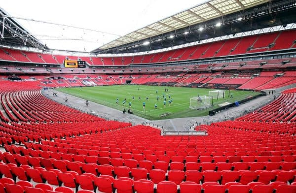 Wembley will host the men's and women's Community Shield games on August 29 (Adam Davy/PA)