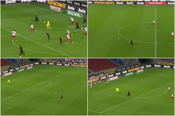 Timo Werner's latest Leipzig goal was straight from the Liverpool playbook