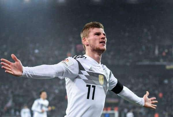 Timo Werner Reportedly A Top Liverpool Target