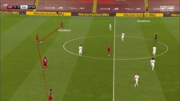 Wijnaldum in back three Liverpool tactics