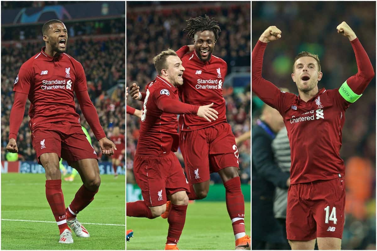Liverpool 4 - 0 Barcelona : 10 things you might not remember about Anfield greatest night
