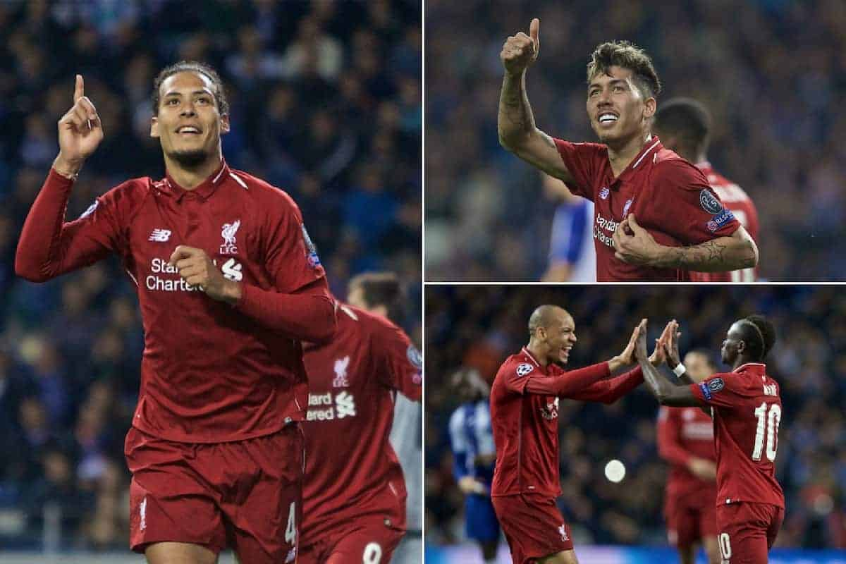 The best photos as Liverpool reach Champions League semi-finals with 4-1 win in Porto