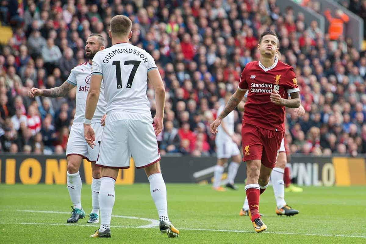 Coutinho vs Burnley