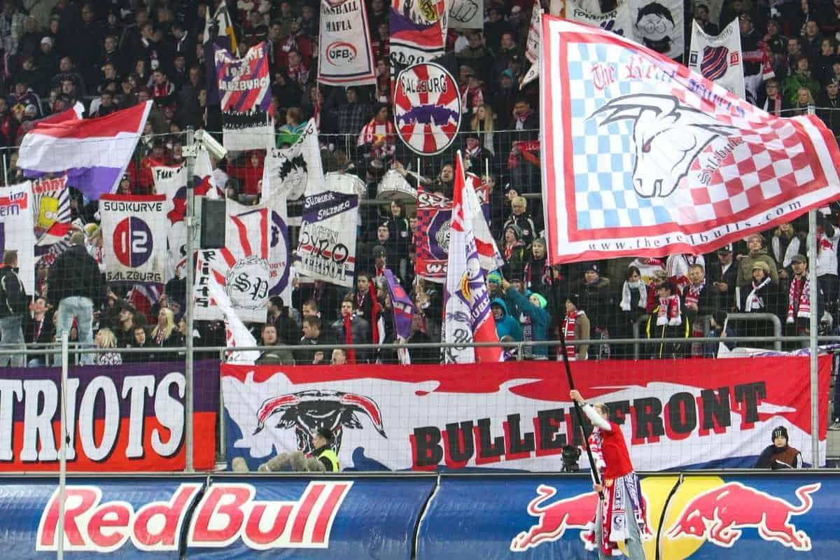 21.10.2010, Red Bull Arena, AUT, UEFA EL, FC Salzburg (AUT) vs Juventus Turin (ITA) , im Bild Fans Red Bull Salzburg, Featue, EXPA Pictures © 2010, PhotoCredit: EXPA/ D. Scharinger