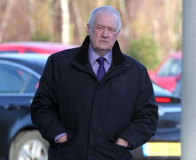 Former chief superintendent David Duckenfield arrives at the Hillsborough Inquests in Warrington in 2015 (Peter Byrne/PA)