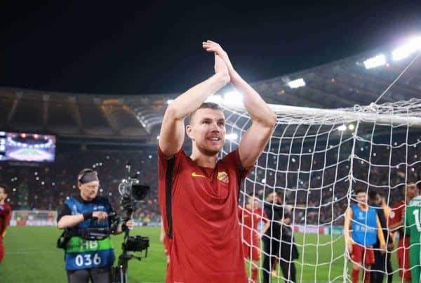 Edin Dzeko, Roma (Foto Cesare Purini / Insidefoto cesarexpurini.)