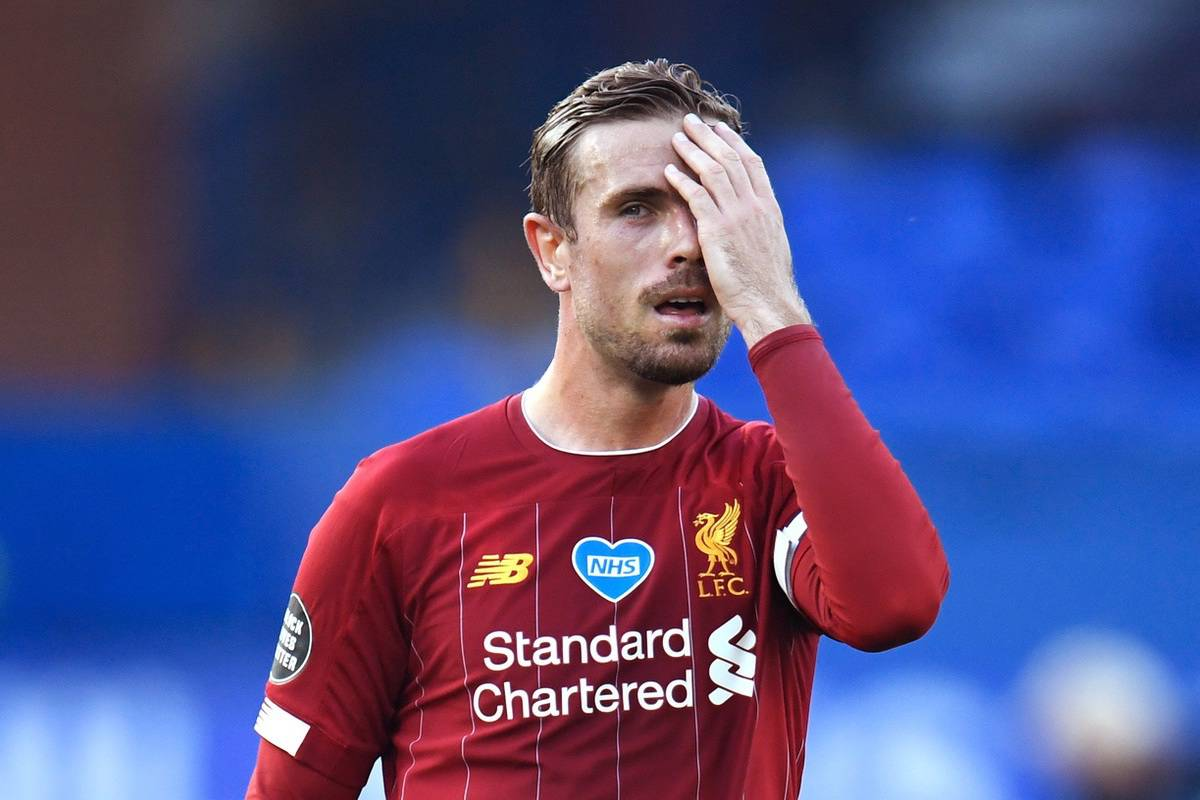 A lack of cutting edge frustrated Liverpool captain Jordan Henderson (Peter Powell/NMC Pool)