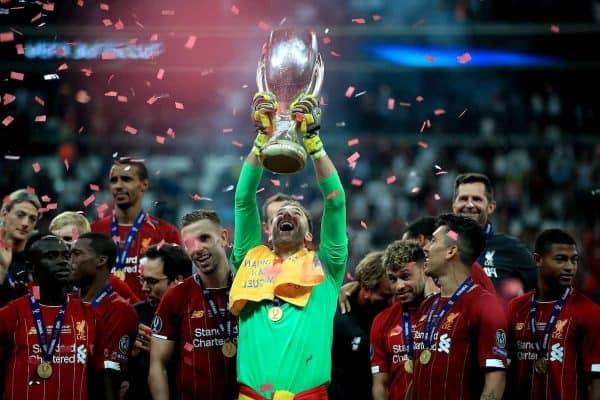 Super Cup celebration (PA Media)