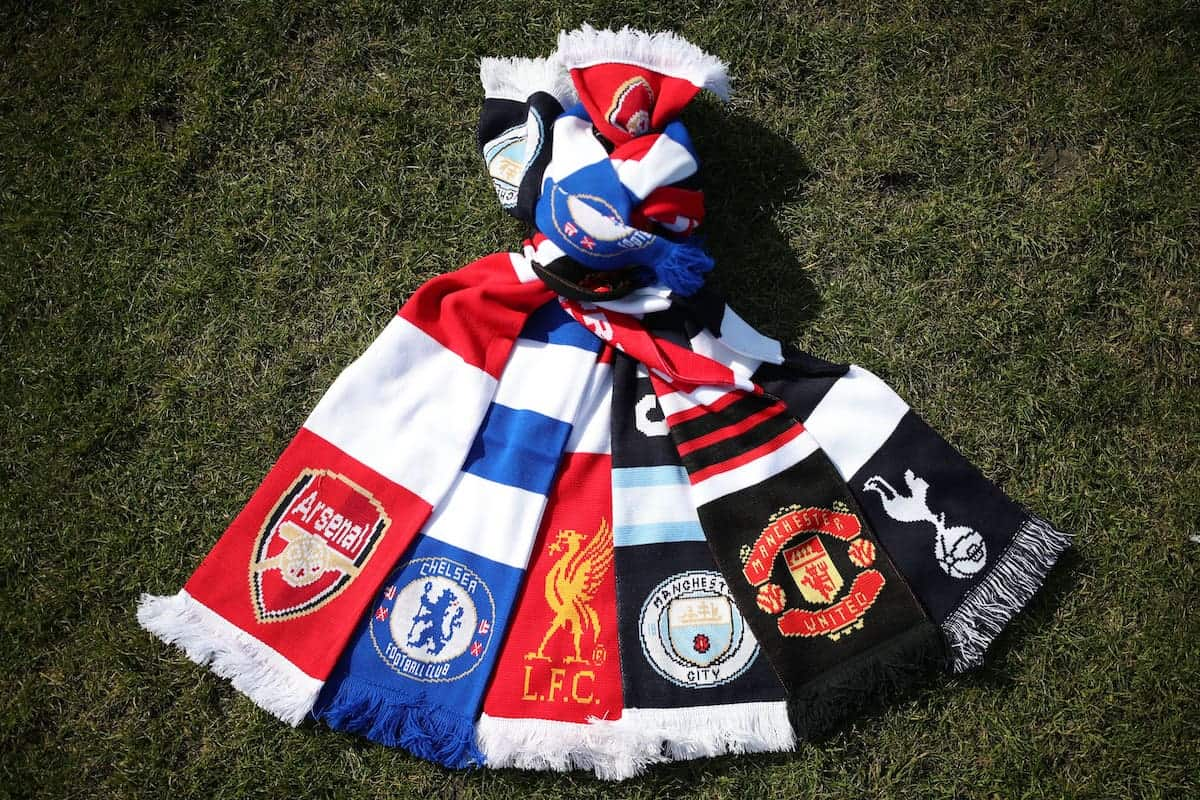 Arsenal, Chelsea, Liverpool, Manchester City, Manchester United and Tottenham Hotspur, who announced in a joint statement they are to join a new European Super League (Yui Mok/PA)