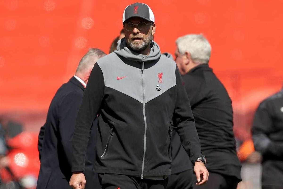 A frustrated and angry Liverpool manager Jurgen Klopp has to find a way to get his side scoring again (Clive Brunskill/PA)