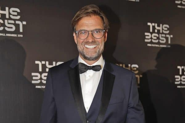 Jurgen Klopp was named best coach at the FIFA awards ceremony in Milan (Luca Bruno/AP)