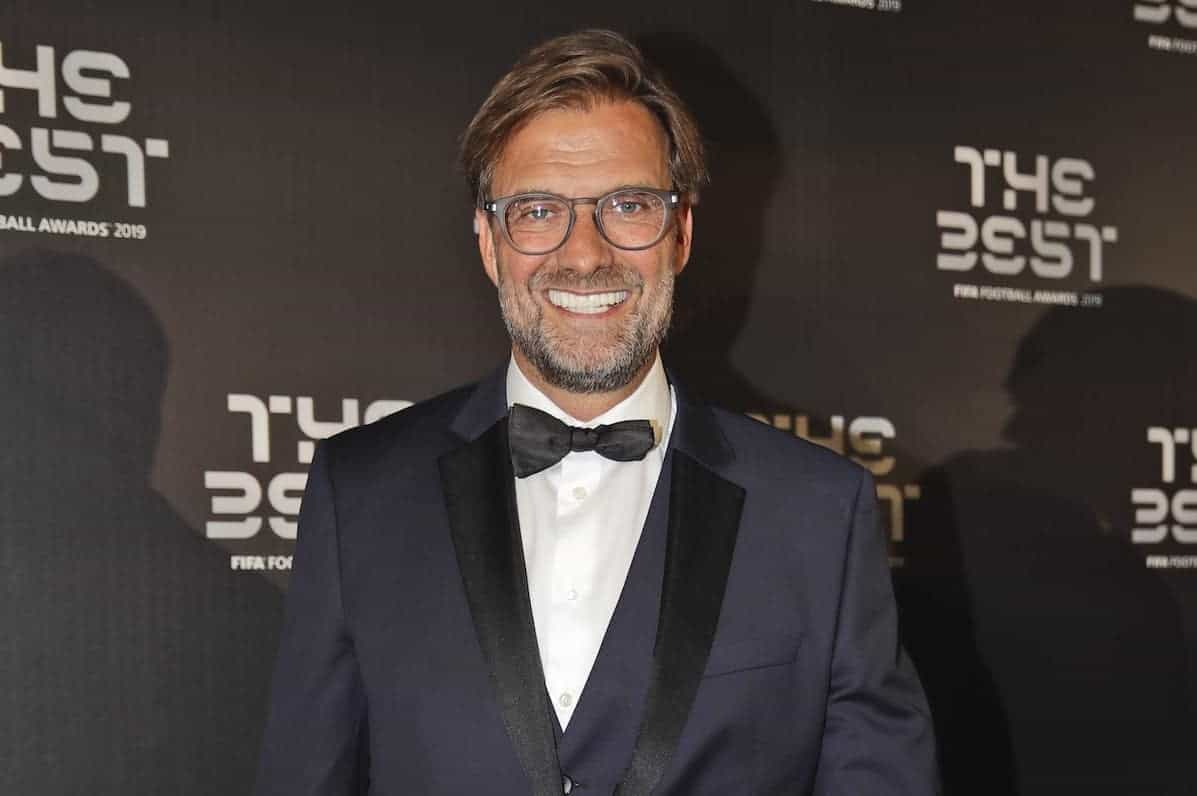 Jurgen Klopp was named best coach at the FIFA awards ceremony in Milan (Luca Bruno/AP)
