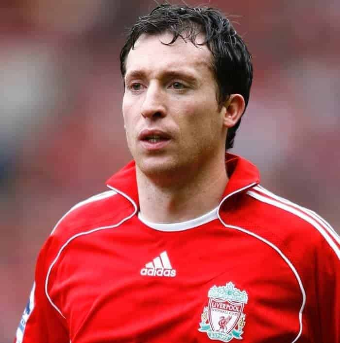 Liverpool, England - Saturday, February 24, 2007: Liverpool's Robbie Fowler before the Premiership match against Sheffield United at Anfield. (Pic by David Rawcliffe/Propaganda)