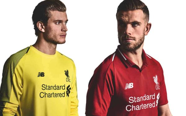 online retailer d7fa8 d0b50 Liverpool FC 2018/19 home kit officially launched