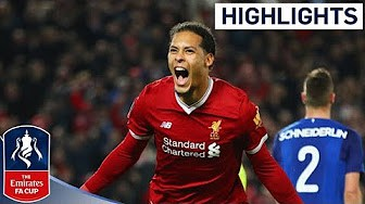 0ae592f6bf7 Liverpool 2-1 Everton: Watch the goals and highlights from FA Cup third  round