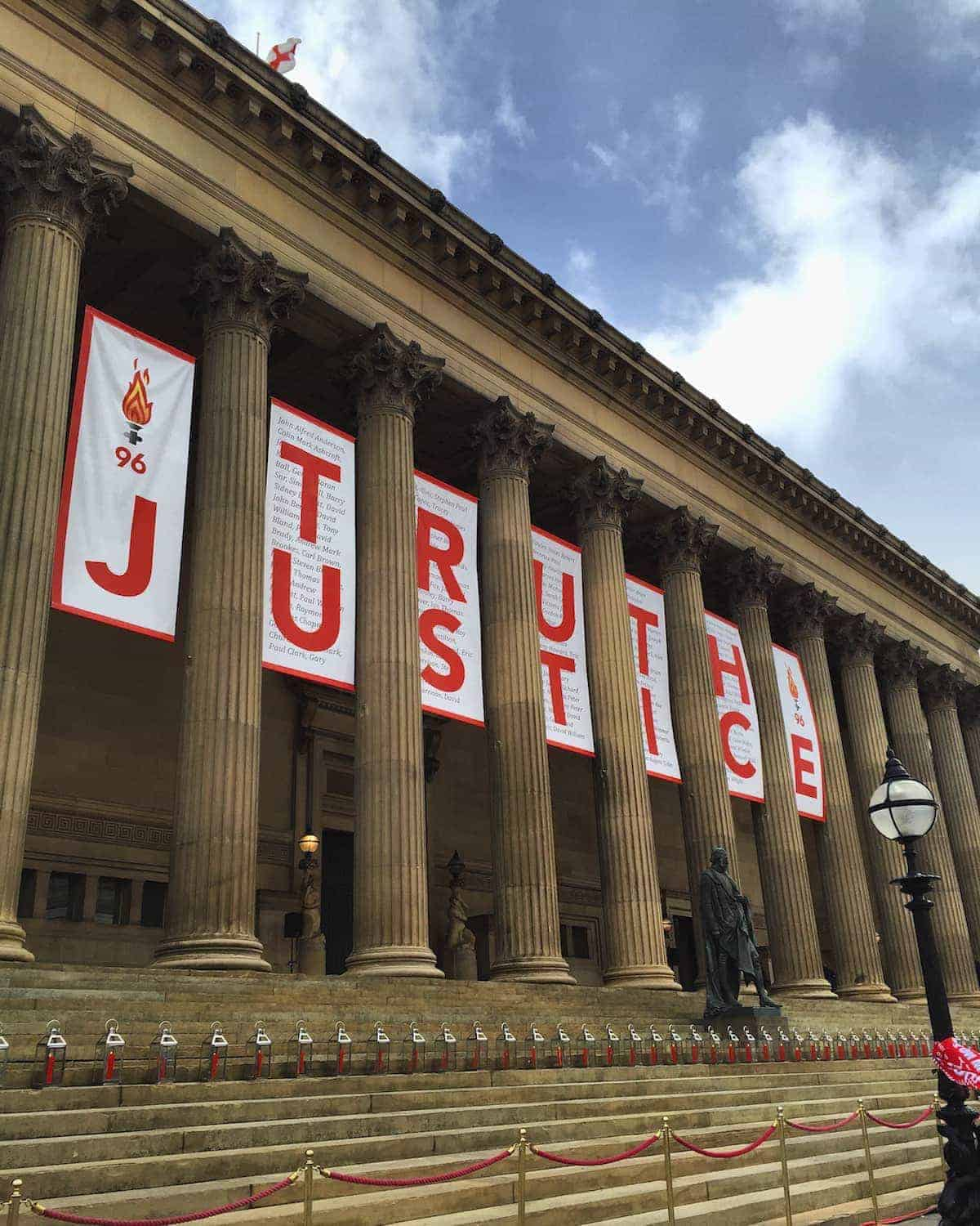 St George's Hall, Liverpool - April 26 2016 - After Hillsborough inquest verdicts (Image: Zack Goldman)