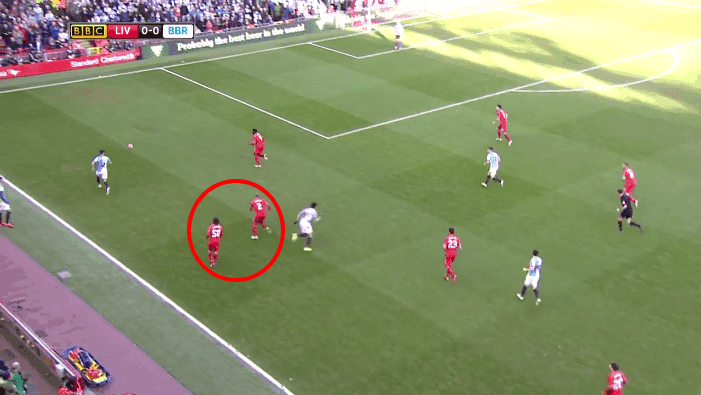 Johnson and Markovic both kept running into the same position, creating gaps in the defence.