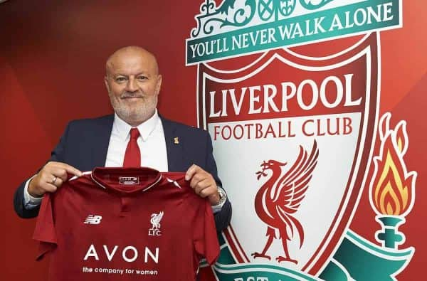 Neil Redfearn signs for Liverpool Ladies, Anfield, 08/06/18. Photo: Nick Taylor/LFC