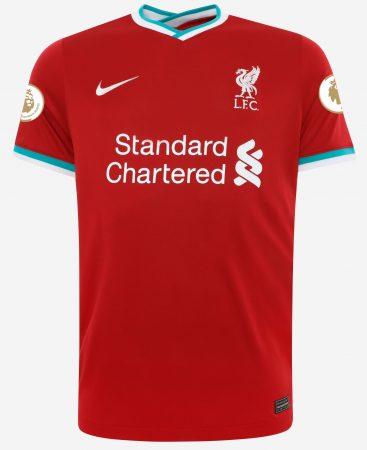 Liverpool FC 2020/21 Shirt with Premier League Champions Badges