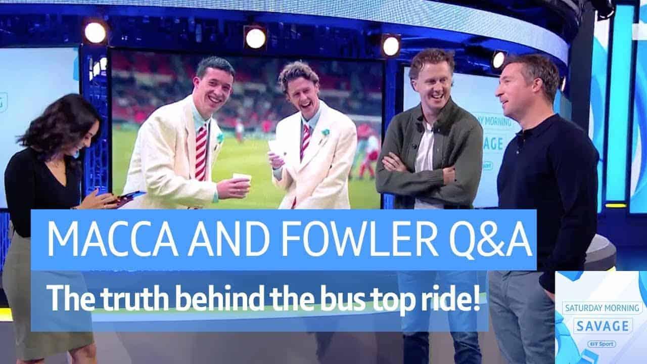 Watch brilliant video as Steve McManaman & Robbie Fowler ...
