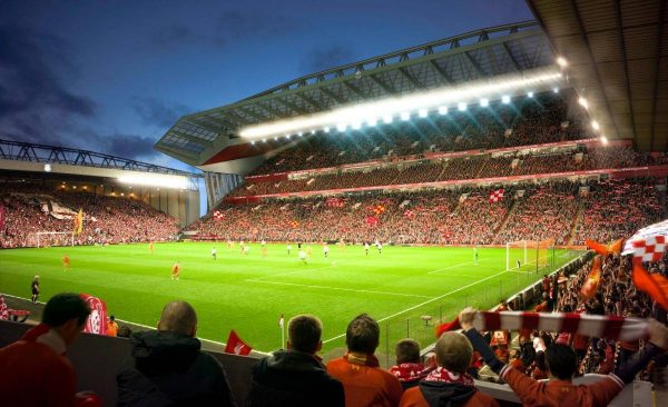 Main Stand Expansion / Redevelopment (Photo: Liverpool FC)
