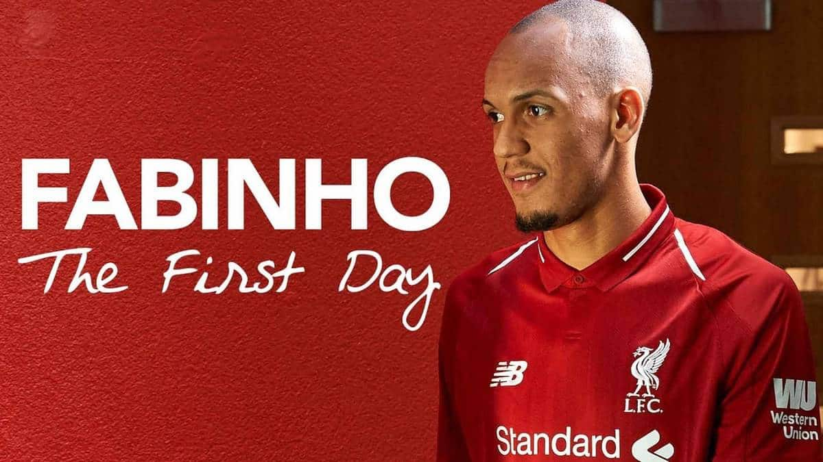 Video: Behind the scenes on Fabinho's first day as a