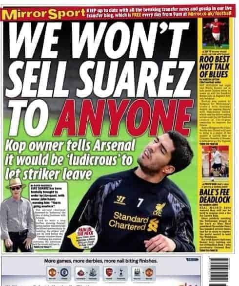 Friday, August 9th: Mirror back page