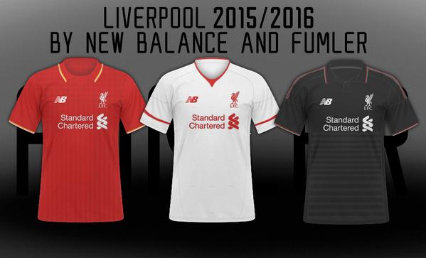 new style bb0d3 14419 Are these Liverpool's 2015/16 New Balance kits?