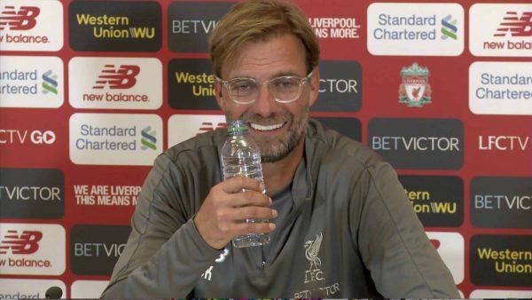 Watch Jurgen Klopp's pre-Crystal Palace press conference here