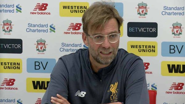 jurgen klopp pre match press conference arsenal vs liverpool