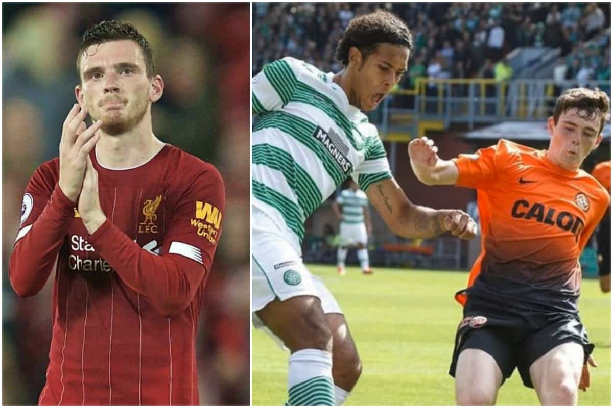 Andy Robertson's ongoing battle with Van Dijk revealed in brilliant fans Q&A