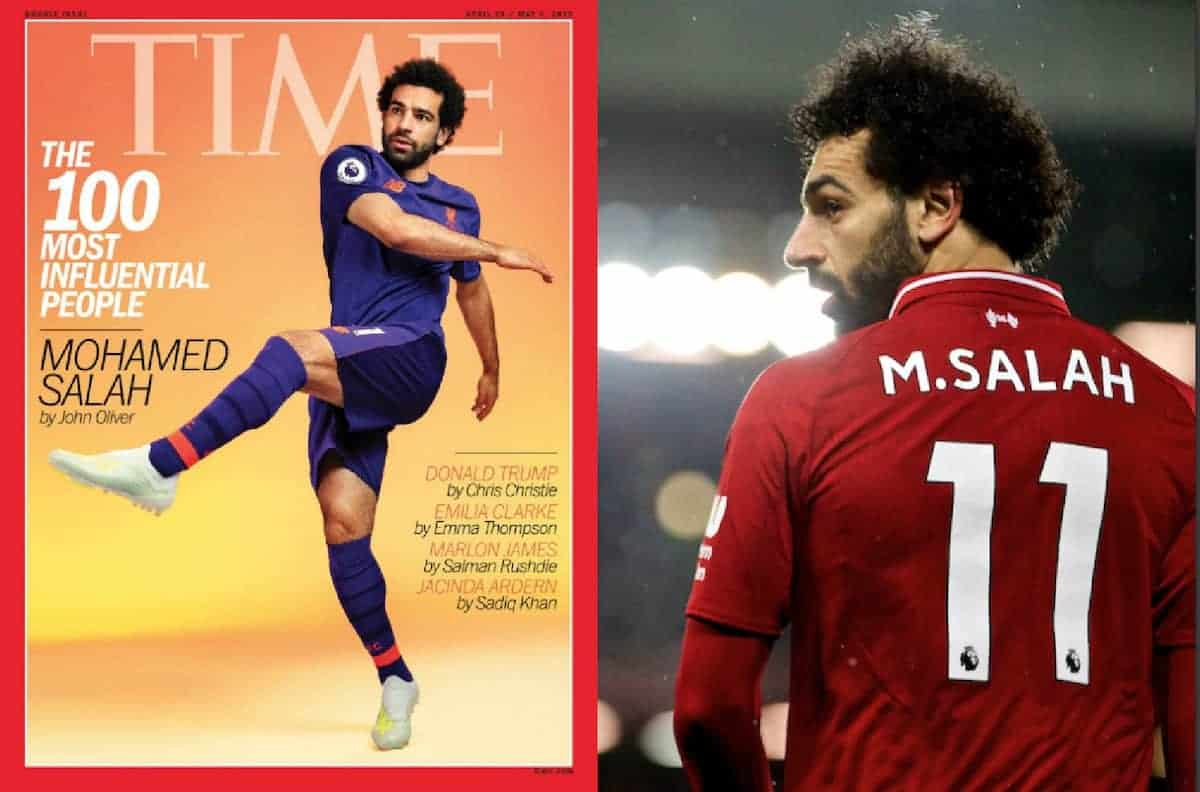 Mo Salah named in TIME magazine's top 100 most influential