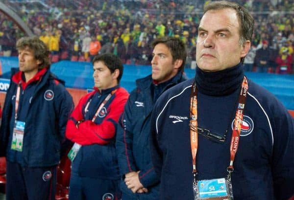 Head coach of Chile Marcelo Bielsa during the 2010 FIFA World Cup South Africa. EXPA Pictures © 2010, PhotoCredit: EXPA/ Sportida/ Vid Ponikvar +++ Slovenia OUT +++