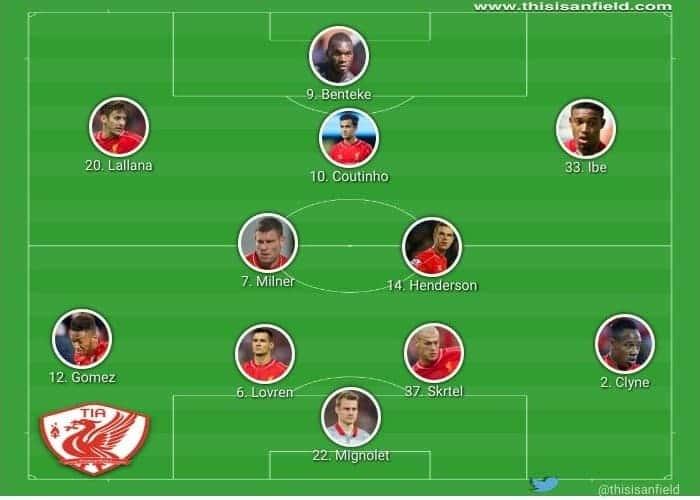 Arsenal unchanged XI