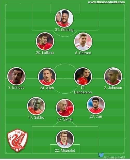 Bolton strong XI
